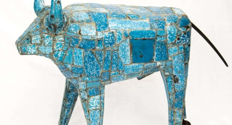 Susan Valyi Big Blue Bull