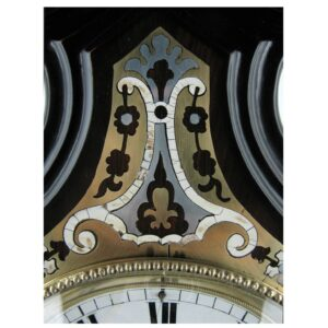 19TH CENTURY VIENNESE MARQUETRY TABLE CLOCK