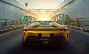 2021 Ferrari SF90 Spider .. A Convertible Masterpiece