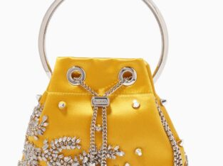 Magnificent Jimmy Choo Bon Bon Bag in Satin