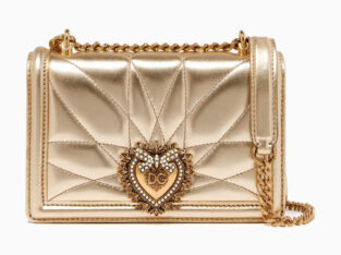 Dolce & Gabbana Small Devotion Bag in Quilted Leather