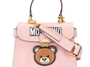 Moschino Teddy motif crossbody bag