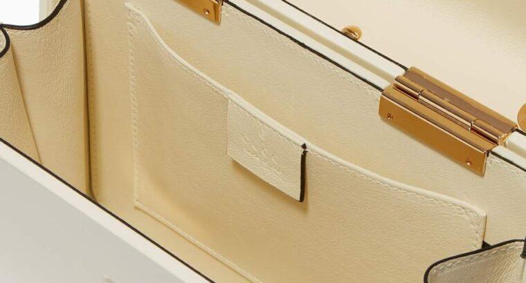 Gucci Sylvie 1969 Plexiglas Top Handle Bag