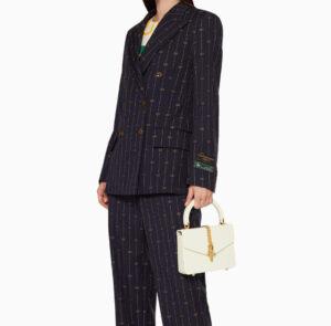 Gucci Sylvie 1969 Plexiglas Top Handle Bag For Sale