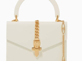 Gucci Sylvie 1969 Plexiglas Top Handle Bag