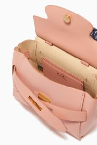 ZAC ZAC POSEN Brigette Mini Crossbody Bag in Leather For Sale