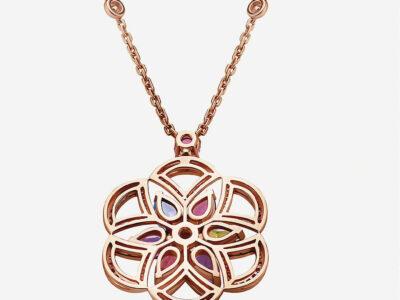 BVLGARI Divas Dream 18ct rose-gold necklace