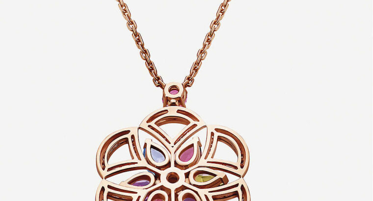 BVLGARI Divas Dream 18ct rose-gold necklace