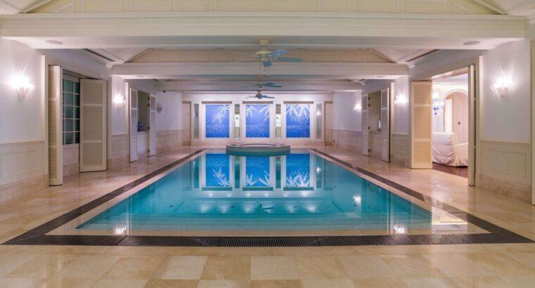 Splendid Mansion in Emirates Hills with European Design
