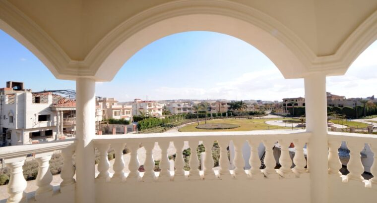 A semi-Finished palace in Royal city compound in Egypt