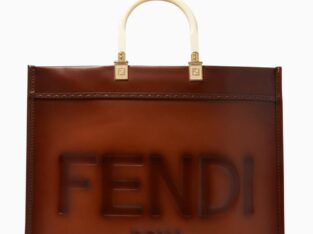 FENDI Sunshine Large Tote Bag in Leather