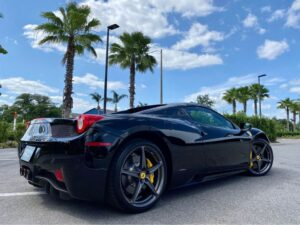 Elegant 2015 Ferrari 458 Spider