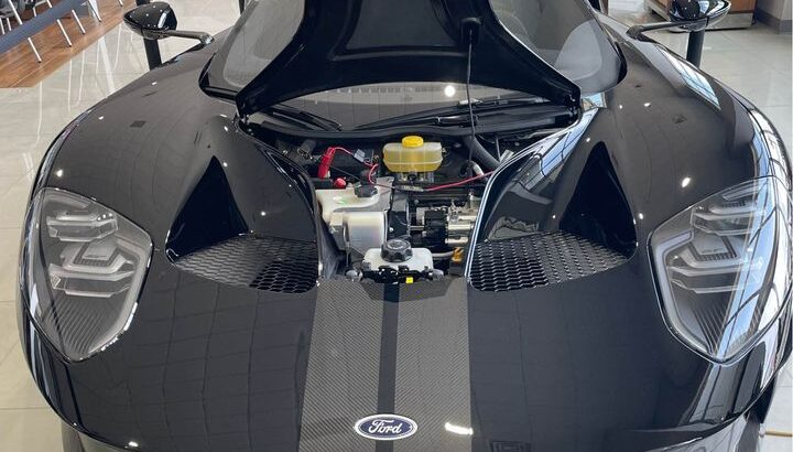 Gorgeous 2019 FORD GT with only 8.9 miles