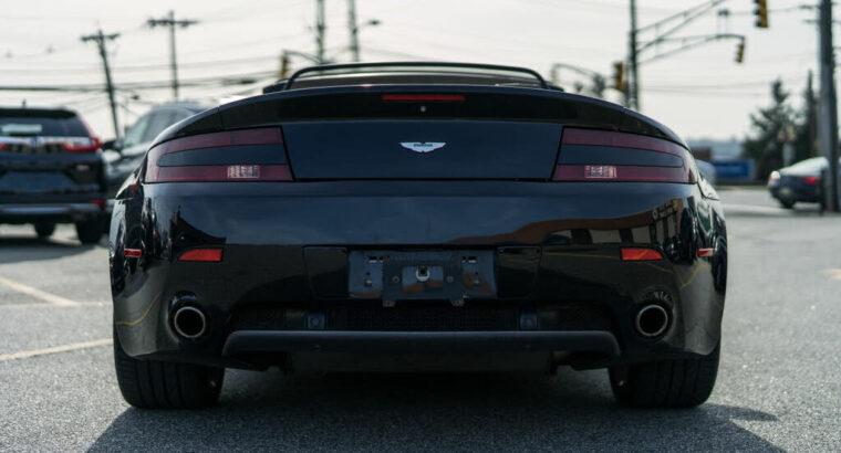 Luxurious 2008 Aston Martin V8 Vantage Roadster RWD