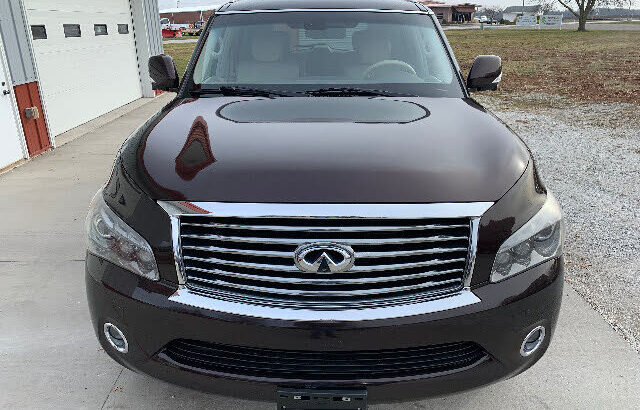 2012 INFINITI QX56 4WD