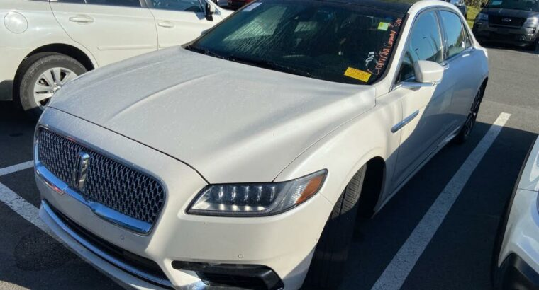Excellent 2017 Lincoln Continental Reserve AWD