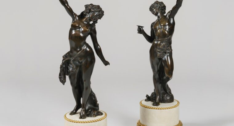 IMPRESSIVE PAIR OF STATUES AFTER MODELS