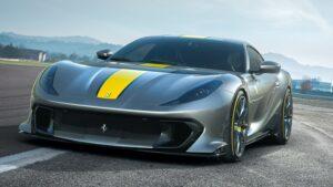 The 2022 Ferrari 812 Competizione .. New Heights