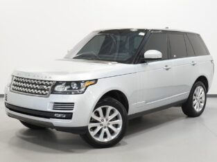 For Sale 2017 Land Rover Range Rover $55,671
