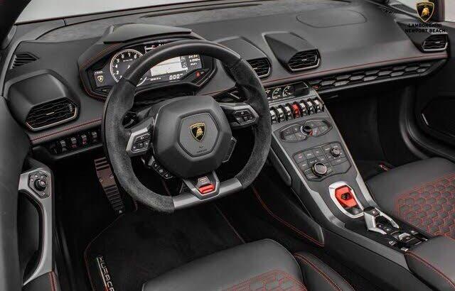 Elegant 2019 Lamborghini Huracan LP 580-2 Spyder Convertible
