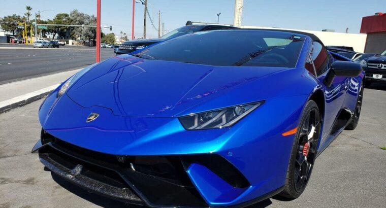 Outstanding 2019 Lamborghini Huracan LP 640-4