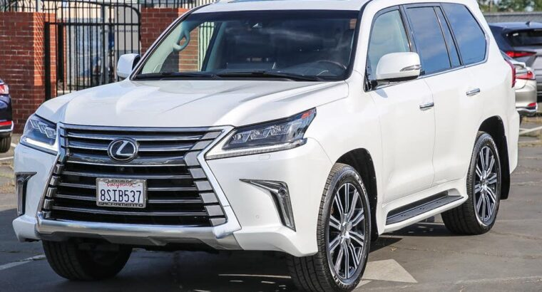 Elegant 2020 Lexus LX 570 3-Row 4WD