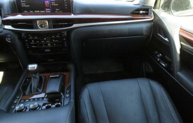 Brilliant 2020 Lexus LX 570 3-Row 4WD