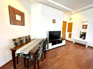 Flat for rent in Seef - Sanabis, fully furnished
