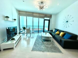 Amazing Panoramic Sea and City View 2BR Apartment